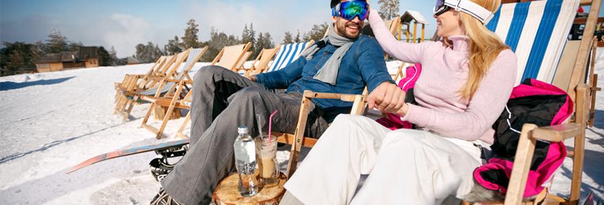 résidence pour vacances au ski