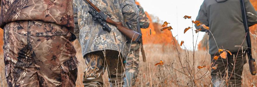 Matériel et accessoires de chasse